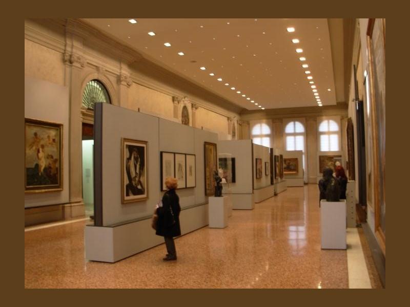 Ca' Pesaro: galleria