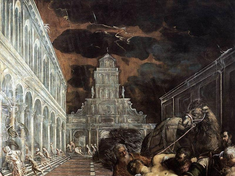 La Scuola Grande di San Marco: trafigamento del corpo di san marco (tintoretto)