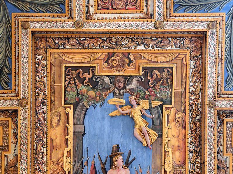 Basilica di San Sebastiano Fuori le Mura: soffitto
