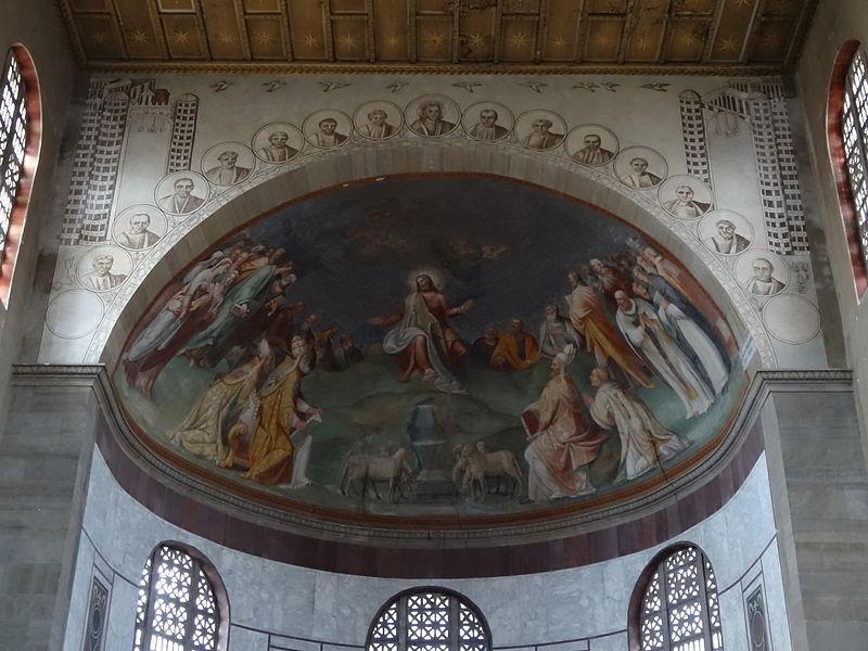 Basilica di Santa Sabina: catino absidale (Zuccari)