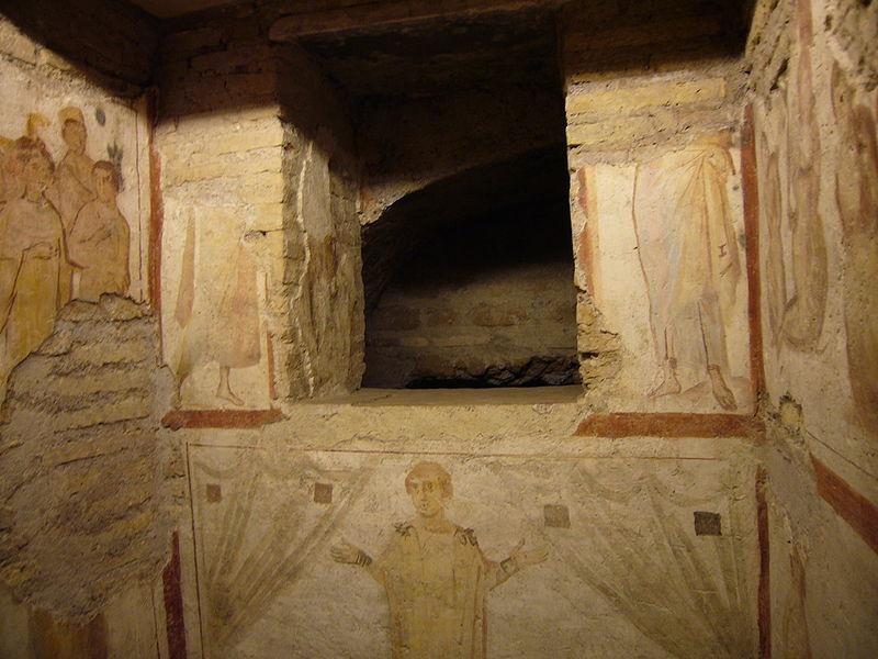 Case Romane del Celio: fenestella confessionis