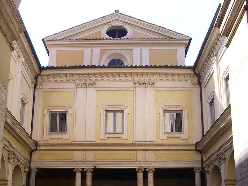 Chiesa di San Gregorio al Celio: portico