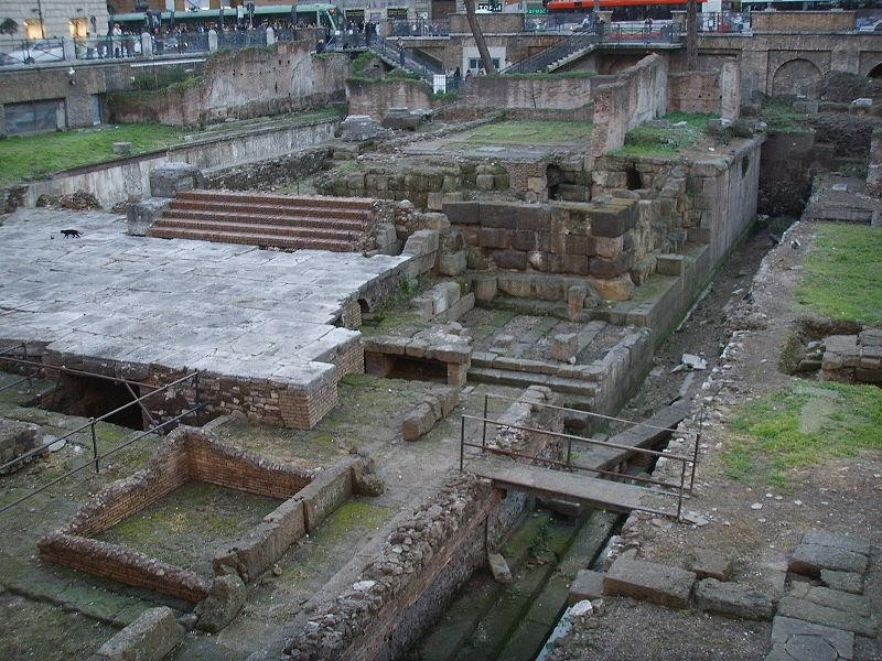 Largo di Torre Argentina: tempio C