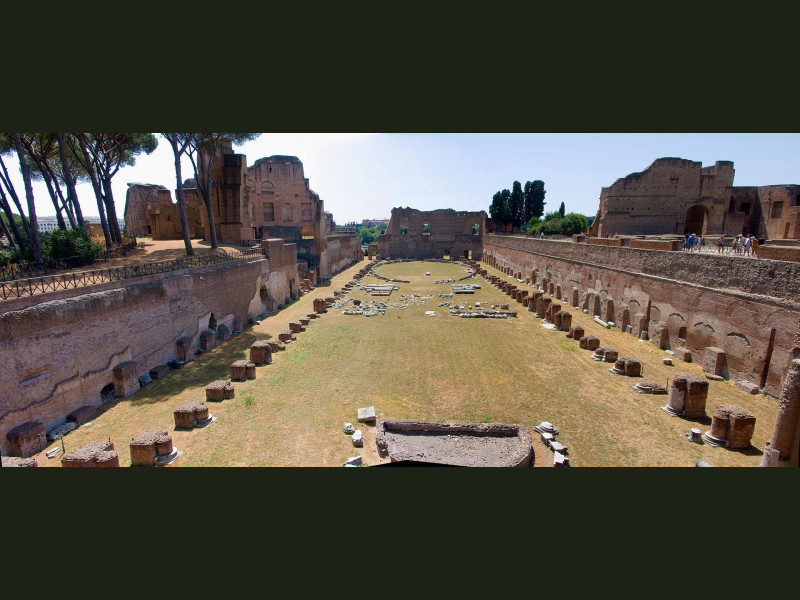 Palatino: stadio della domus augustana