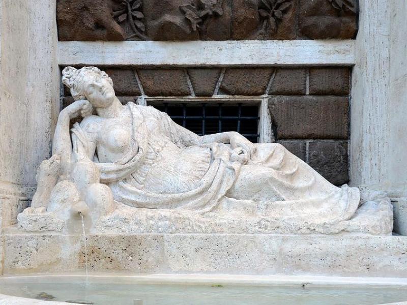 Quattro Fontane: Diana