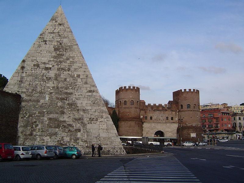 Testaccio: piramide e porta san paolo