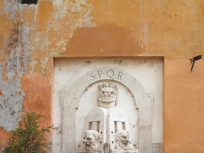 Via Margutta: La Fontana delle Arti