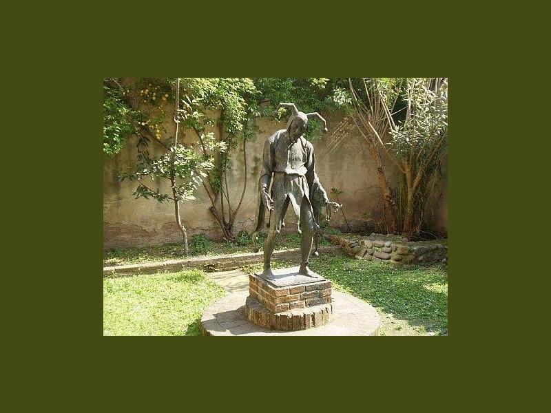 Statua di Rigoletto, Aldo Falchi