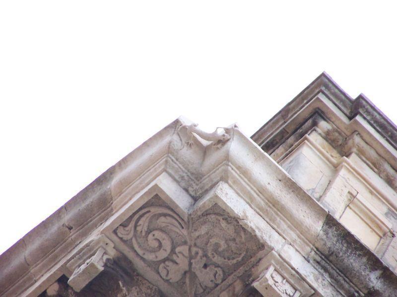 La lucertola, firma dell'architetto Vermexio