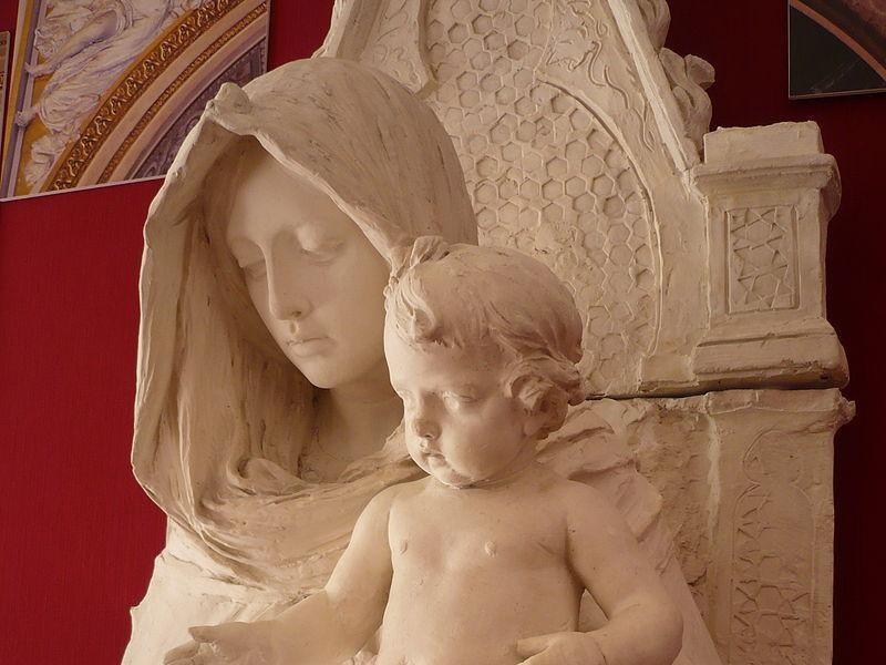 Madonna in Trono, M. Tripisciano
