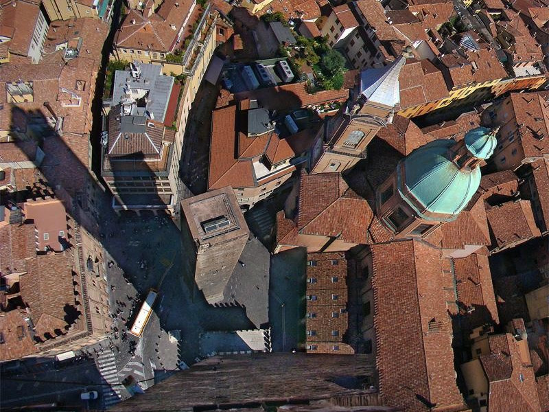 Vista dall'alto della Torre