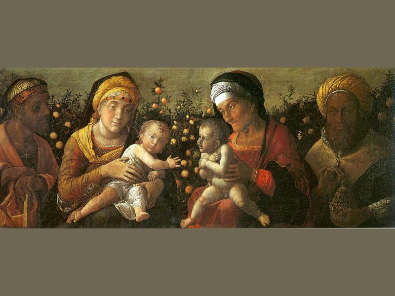 Sacra Famiglia di Andrea Mantegna