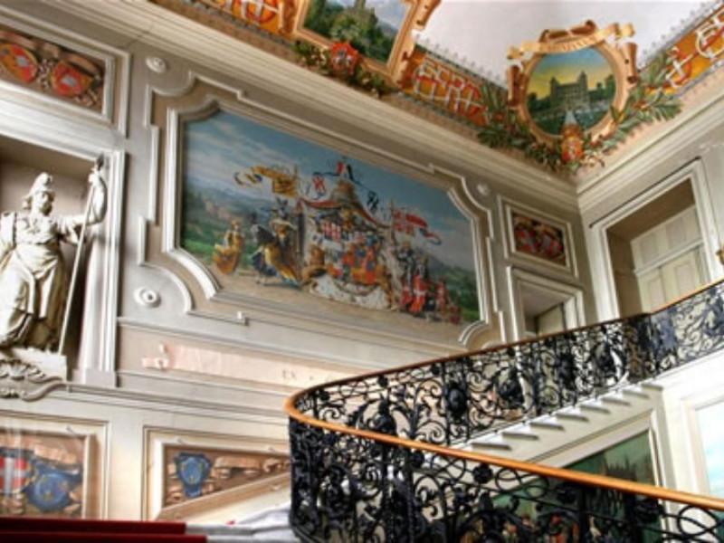 Castello di Racconigi, interno