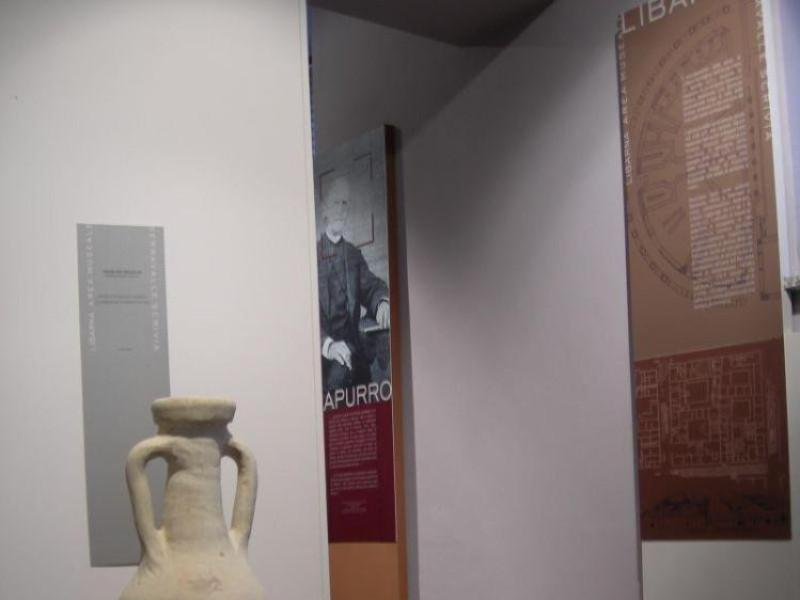 Sala museale di Libarna