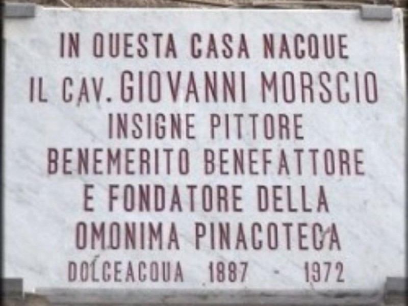 La Pinacoteca Morscio