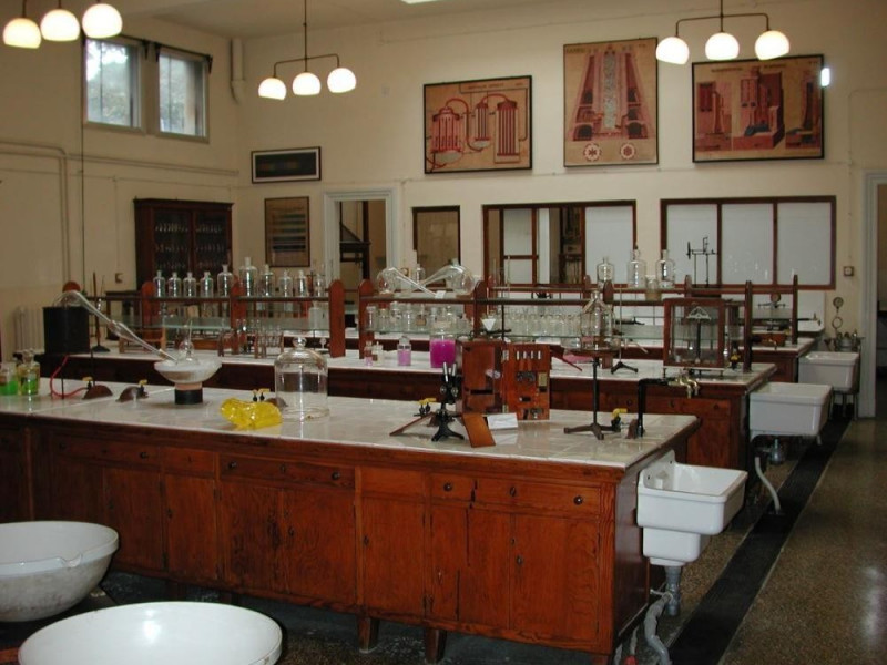 Museo  - Laboratorio di chimica