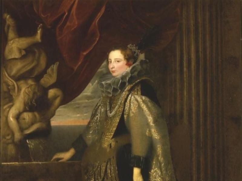 Anton Van Dyck_Caterina Balbi Durazzo
