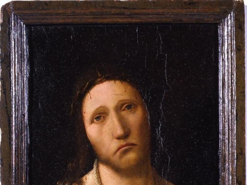 Antonello da Messina, Ecce Homo, Genova, Gall