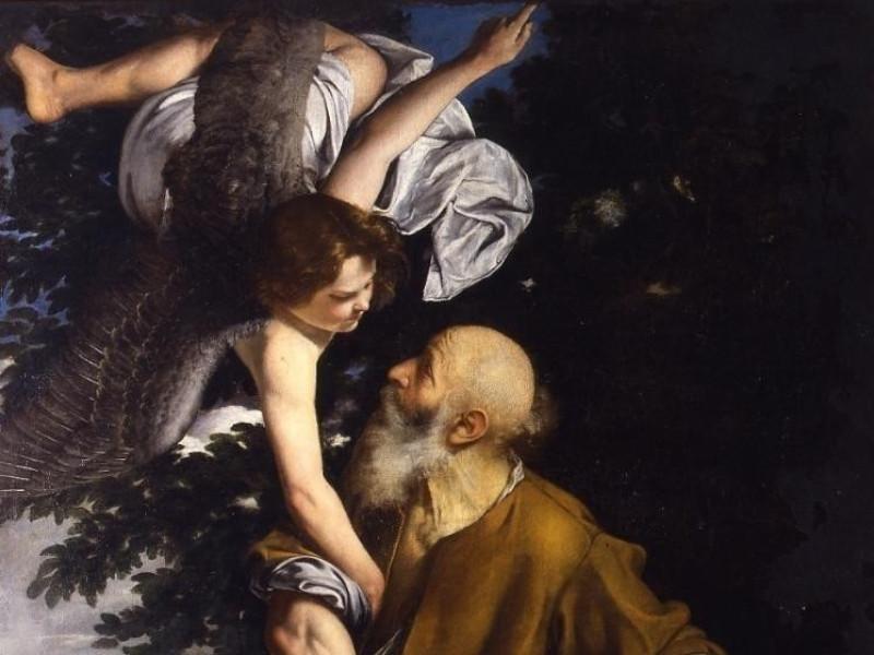 Orazio Gentileschi, Sacrificio di Isacco, Gen