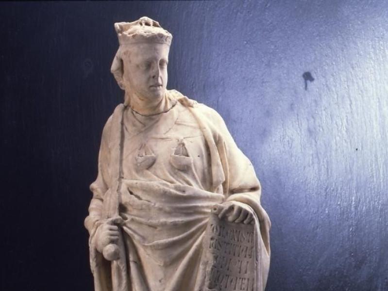 Giovanni Pisano, Giustizia, Genova, Galleria