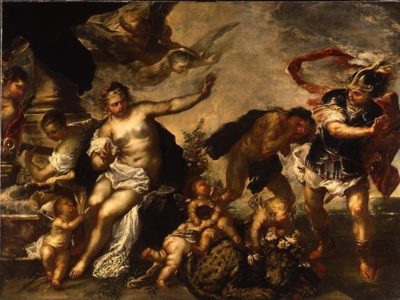 Luca Giordano, Allegoria della Pace, Genova,
