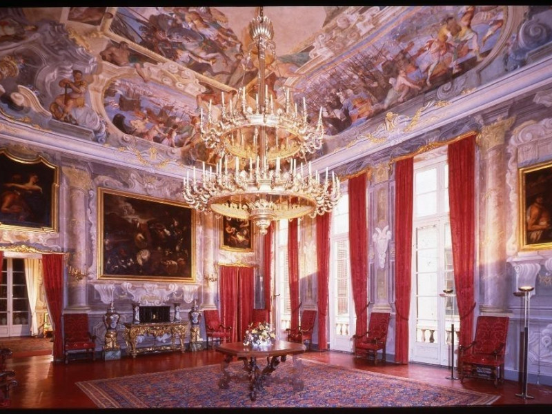 Salone secondo piano nobile, Genova, Galleria